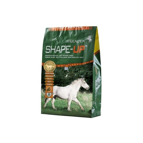 Saracen Shape Up 20Kg - Low Calorie Horse Feed Balancer