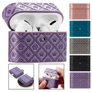 For Apple AirPods 1/2 & PRO Charging Case PU Leather Skin Protective Case Cover