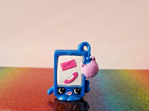 Shopkins Fashion Spree Series #28 SMARTY PHONE Blue Exclusive Mint OOP