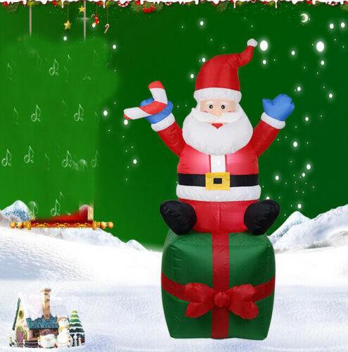 Aufblasbarer Schneemann Weihnachtsmann Weihnachtsmann Freien Garten Dekoration