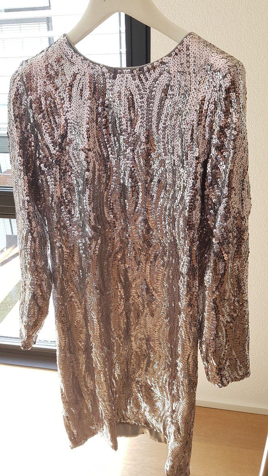 Exklusives Pailletenkleid von Custommade by Numbers NEU Gr 36 -