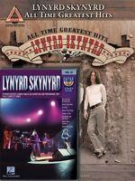 Lynyrd Skynyrd Guitar Pack Sheet Music Guitar Tablature Book With Dvd 000142923