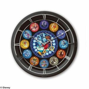2019 Nouveau Style Kingdom Hearts – Horloge Murale Lumineuse – Lighting Clock – Official Product
