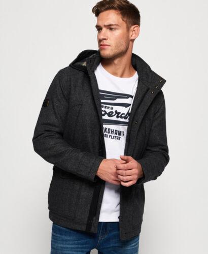 Superdry Gyton à capuche laine manteau