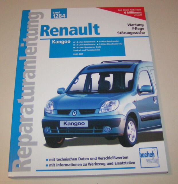 Manuel de Réparation Renault Kangoo - à partir de L'Année 2002