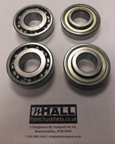 EASY TO REMOVE TANGLES 20X47X15mm for pallet trucks wheels x4 6204ZV bearings