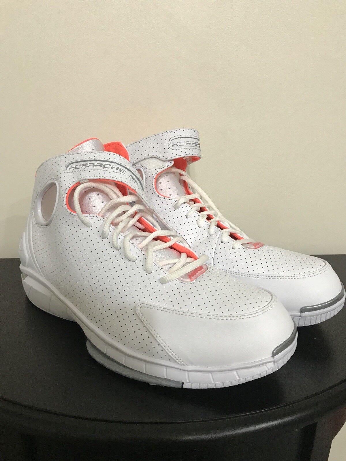 NEW Nike Air Zoom Huarache 2K4 Mens Basketball shoes 308475-102 Size 11.5 RARE