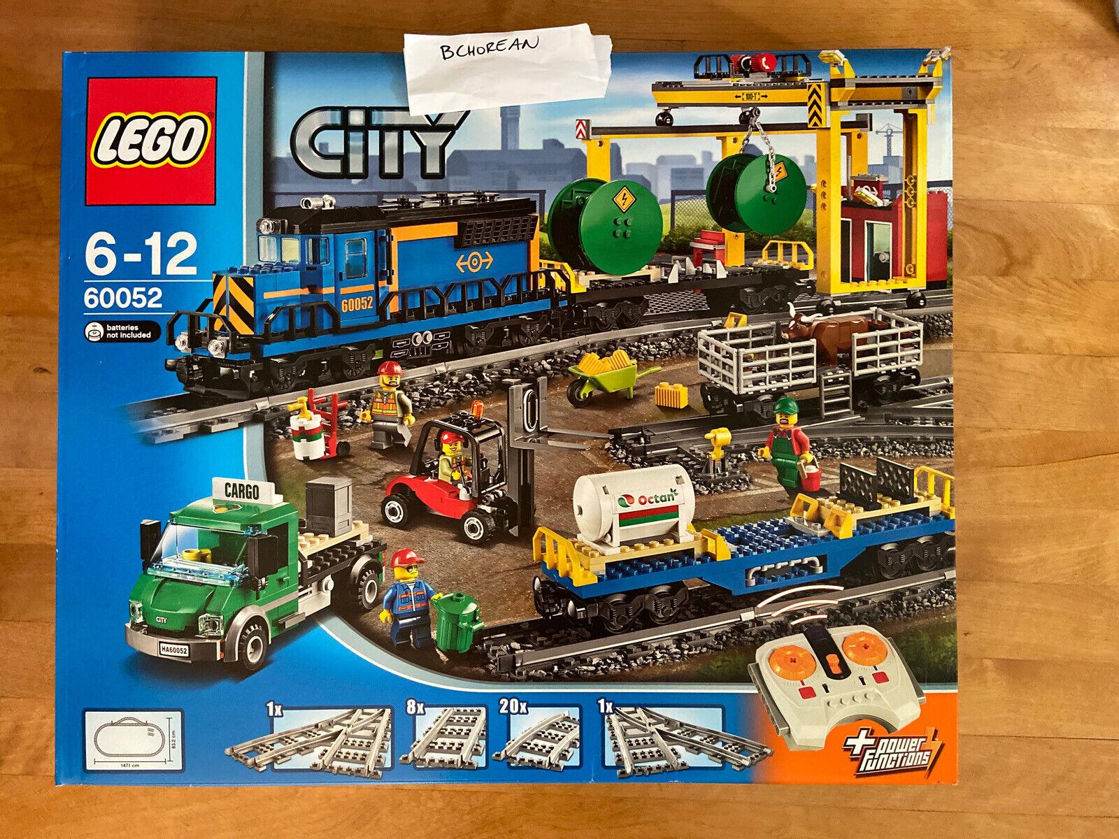 Lego RC Eisenbahn TRAIN 60052 Lok Güterlok inkl Power F CARGO ENGINE