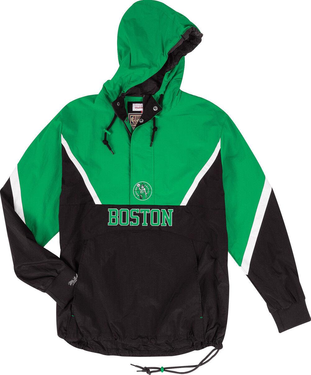 Mitchell NBA & Ness Boston Celtics Zippé Anorak Veste Coupe-Vent NBA Mitchell Hwc Veste a31302