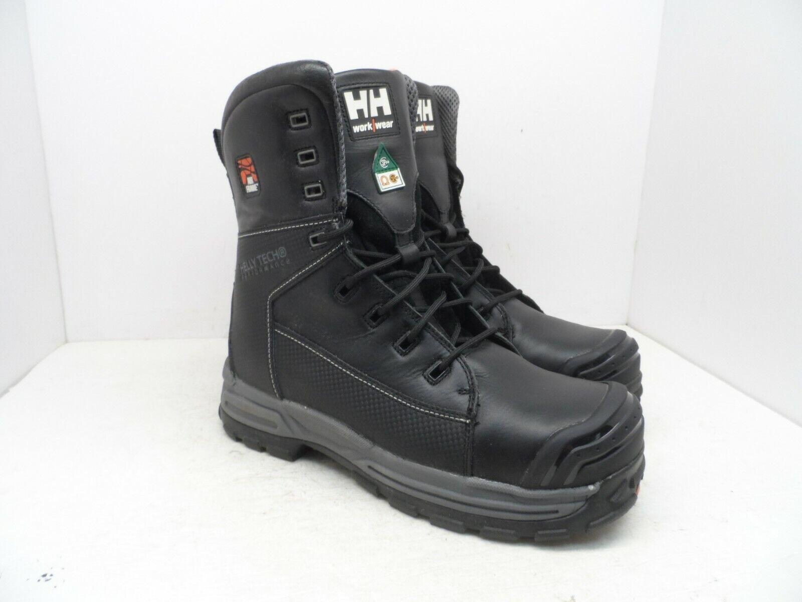 Helly Hansen Hombre 8  Composite Toe Comp placa Bota HHF182004 Negro 10M