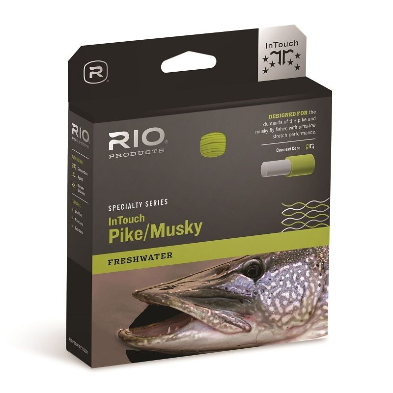 RIO InTouch Pike   Musky Fly Line - WF9F - Floating - New