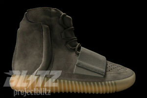new product 03906 f6735 Details about ADIDAS YEEZY BOOST 750 LIGHT GREY GLOW KANYE BB1840 BLACK  FRIDAY SALES 8-11.5