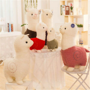 Japan Alpacasso Giant Llama Plush Alpaca Amuse Stuffed Toy Doll Soft Pillow Cute