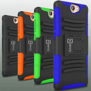 wholesale dealer f7d7b 30db8 Holster Cover Rugged Tough Hybrid Belt Clip Case for HTC One A9 ...