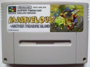 Marvelous - Another Treasure Island Super Nintendo Famicom SNES NTSC J English ! - Warszawa, Polska - Marvelous - Another Treasure Island Super Nintendo Famicom SNES NTSC J English ! - Warszawa, Polska