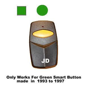 Chamberlain Garage Door Opener Visor Remote Control Green