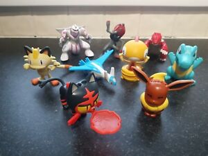 Bundle collezione di McDonald POKEMON ACTION FIGURE LOTTO 1