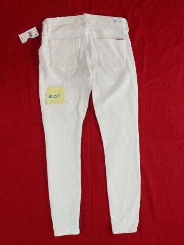 skinny Hudson Boot blanc 31 jeans 28 d Cut taille 30 Cut blanc Fare Boot wggqH6X