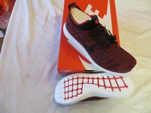 0d21b609606753 Nike Men s Roshe Two Flyknit V2 Sz 11.5 Chile Red Black-Bordeaux-Wht ...