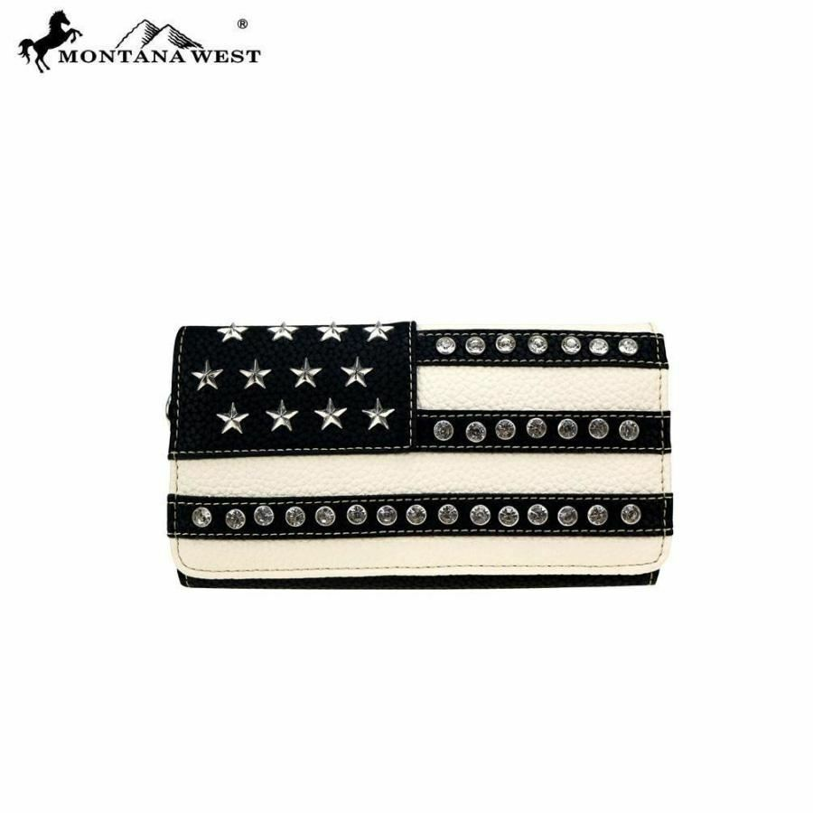 Montana West American Pride Collection Secretary Style Wallet