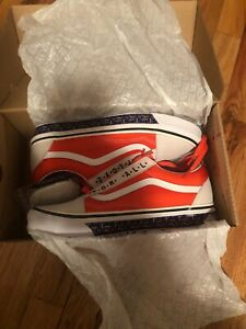 """Details about Patta X Vans Old School 36 Dx """"Got Love For All"""" Size 10 (True WhiteFlame)"""