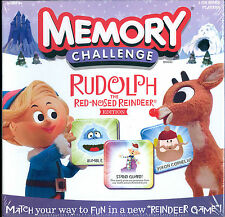 NEW Rudolph the Red-Nosed Reindeer Edition Memory Challenge Game 2012 Hasbro