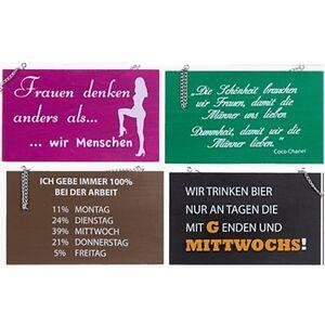 Holz Schilder Mit Lustigen Spruchen Ca 22 X 13 Cm Zum Aufhangen 4