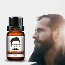 Men Beard Growth Oil Hair Mustache Natural Liquid Care Fast Grow Conditioner