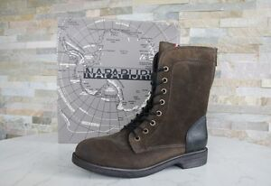 NAPAPIJRI-40-Bottines-Chaussures-a-lacets-chaussures-bottes-boue-BOUE-NEUF