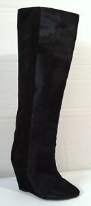 4447e6bf1c6 NWOBX Isabel Marant Shelia Pony Hair Wedge Boot US SZ 6 EUR SZ 36 ...