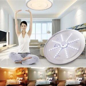 24-20-16-12w-Blanco-pulpo-redondo-Luz-LED-cocina-dormitorio-lampara-de-techo