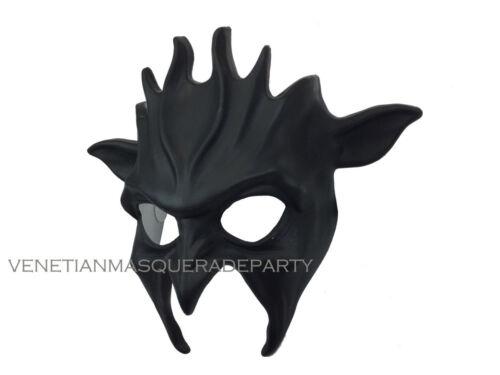 Black Masquerade Skull Lion Cow Devil Wolf Gladiator Halloween DIY Costume Mask