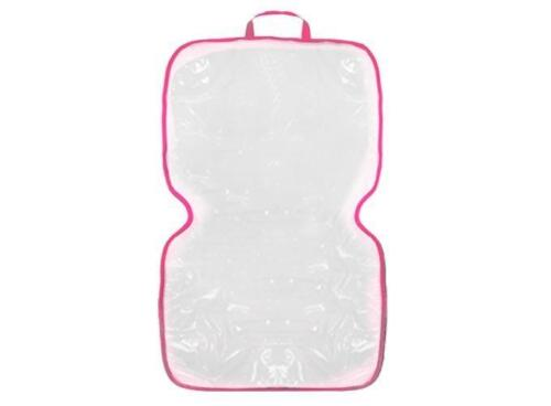Unterlage Kindersitz transparent PINK Urlaub Auto Schoner Leder Sitz abwaschbar