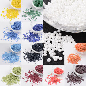50g-Round-Glass-12-0-Opaque-Lustered-Colors-Seed-Beads-about-3304pcs-50g-2mm