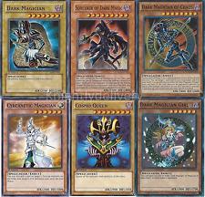 Sorcerer of Dark Magic + Dark Magician Of Chaos + Dark Magician Girl - NM Yugioh