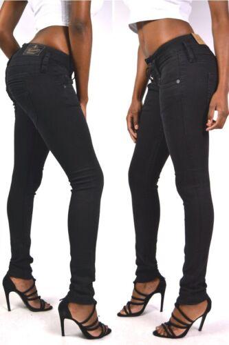 Herrlicher Jeans PITCH SLIM 5303 DB840 Tempest Black Schwarz L30 L32
