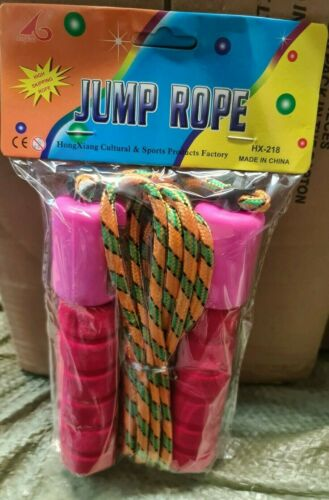 Fitness Jump Rope Foam Handles
