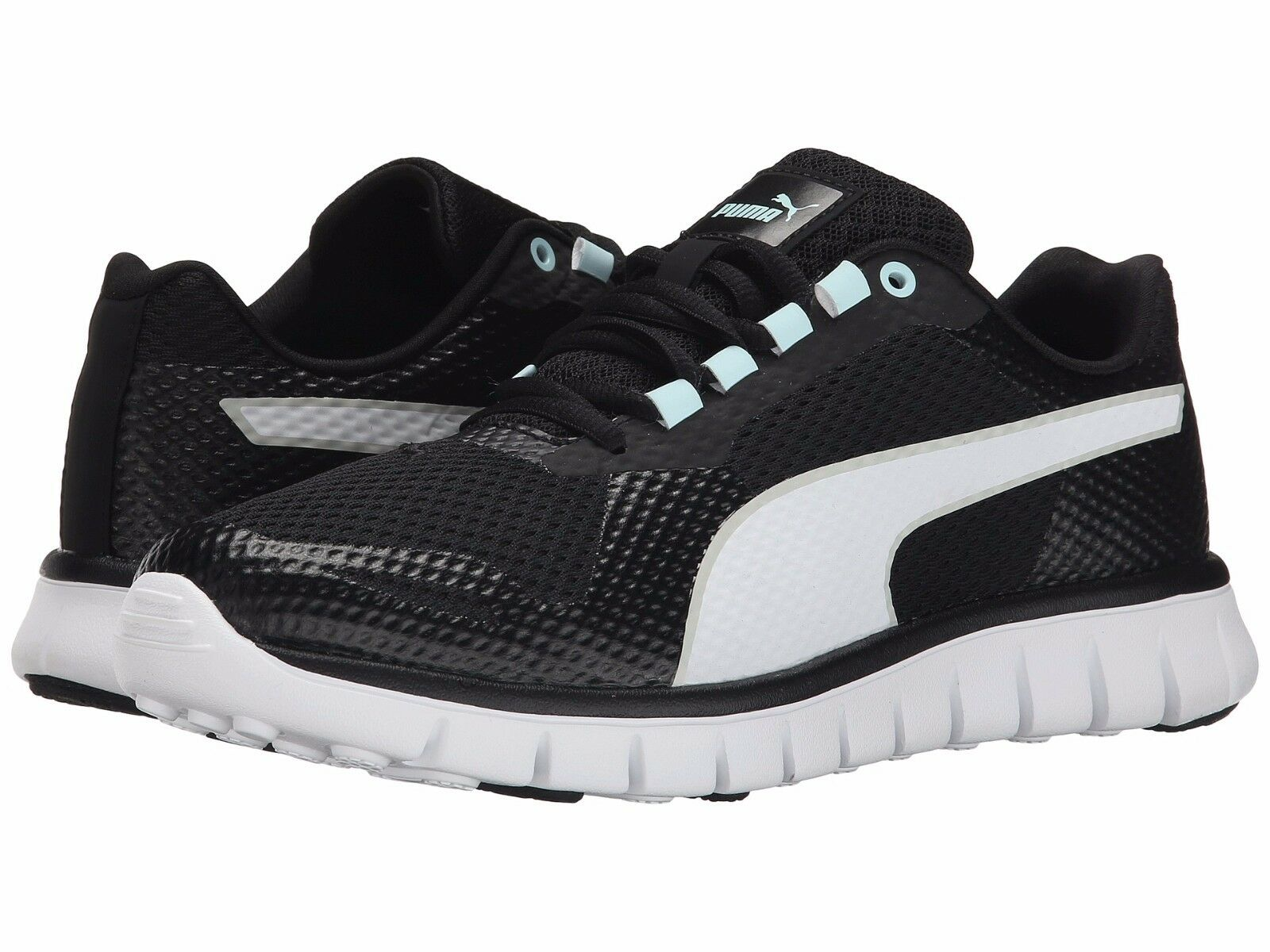 Le scarpe nuova puma macchia le donne scarpe da corsa nuova scarpe 188406-02 bianco nero 8baeae