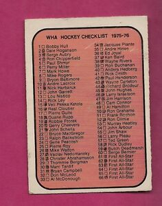RARE-1975-76-OPC-WHA-131-MARKED-CHECKLIST-CARD-INV-2640