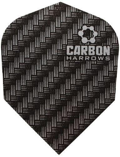 3 Sets Harrows Carbon Standard Shape Dart Flights 9 Flights