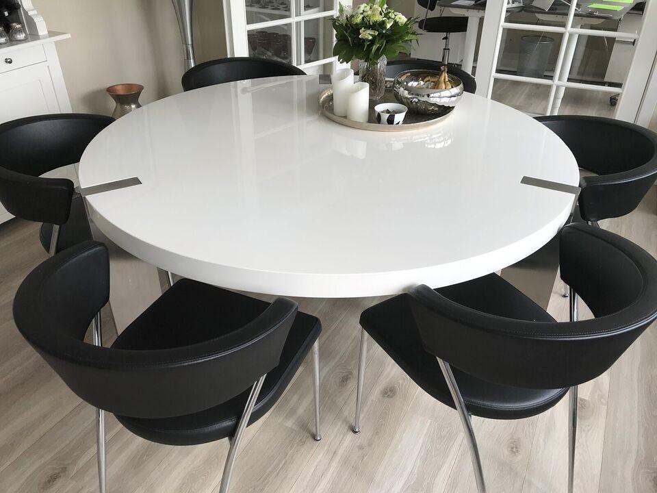 Spisebord, Træ / Højglans, ILVA