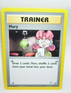 Pokemon-Card-Trainer-Mary-No-87-111-Rare-1995-2000-Nintendo