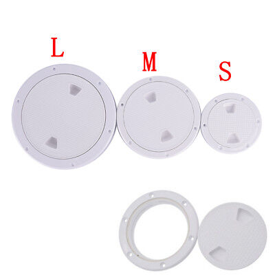 """ACCESS INSPECTOR PLATE FOR BOAT MARINE PLASTIC PVC 6/"""" /& 8/"""" DECK PLATE"""
