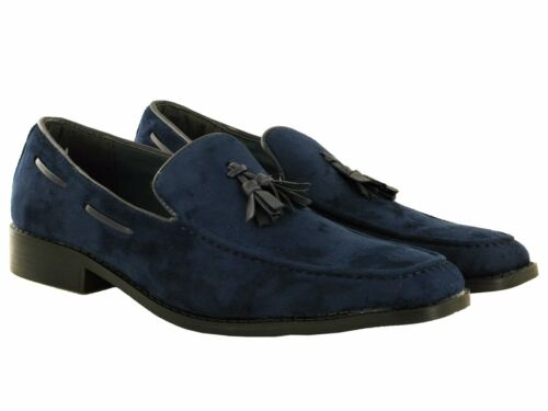 Pull homme front tassel casual parti à enfiler chaussures uk taille 6-11