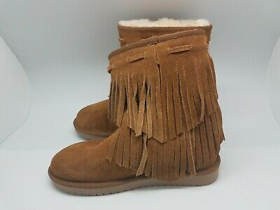 87a1a1137a2 Koolaburra by UGG 1015897 Ankle Cable Winter Boots Woman US 5 Chestnut |  eBay