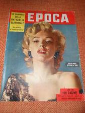 MARILYN MONROE  RIVISTA COVER EPOCA MAGAZINE 1953