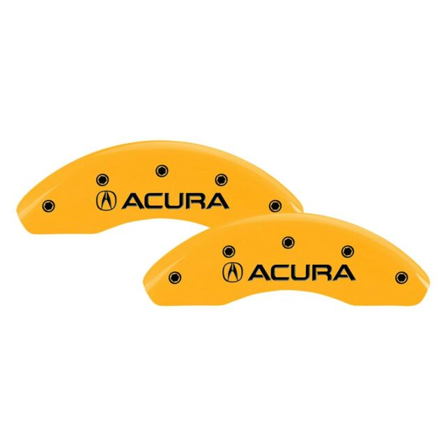 For Acura RDX 07-12 Caliper Covers Gloss Yellow Caliper