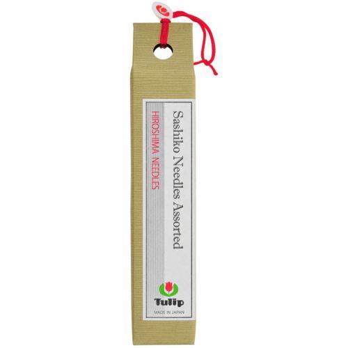 THNSA-ASST Tulip Sashiko Needles 6//Pkg-Assorted