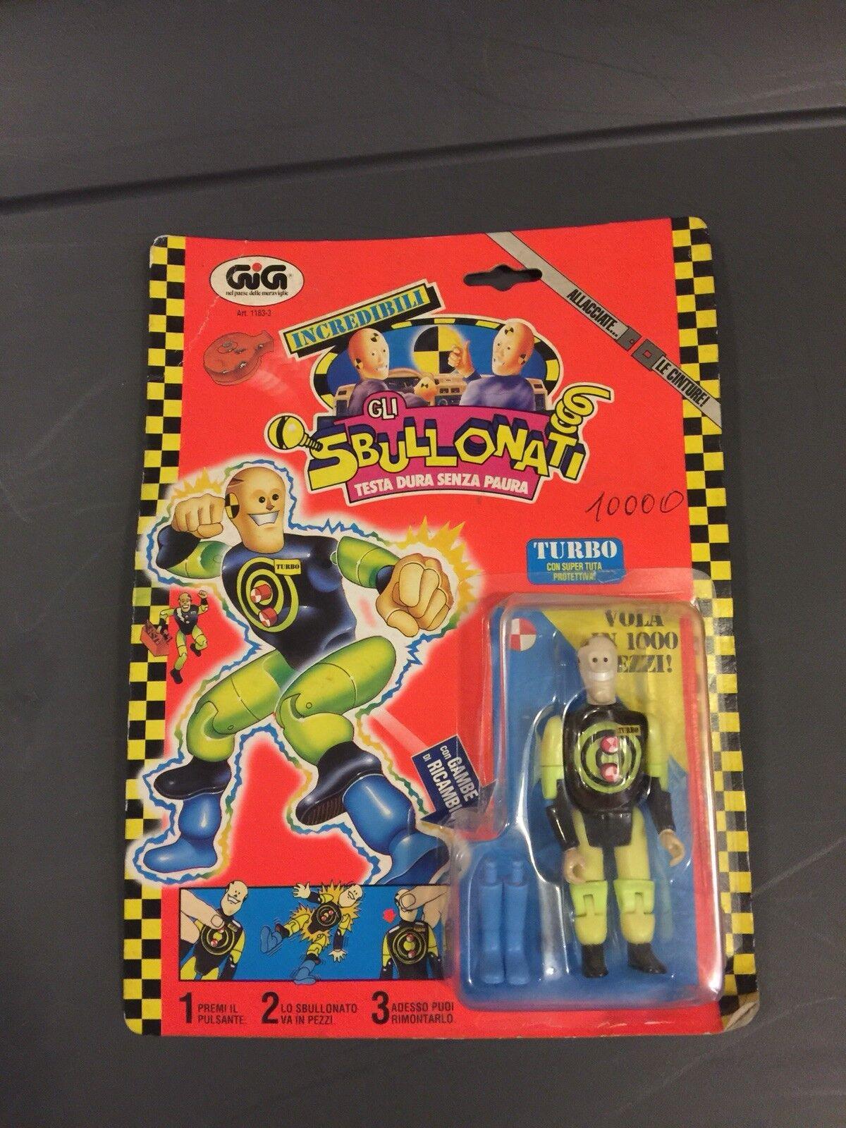 The Incredible Crash Dummies - Gli Sbullonati - Turbo (Dent) Figure - Carded
