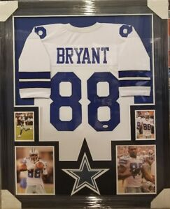 62a7a2c3c Image is loading DEZ-BRYANT-DALLAS-COWBOYS-AUTOGRAPHED-JERSEY-CUSTOM-FRAMED-